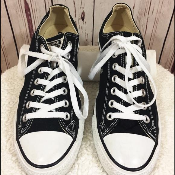 a5c2b698cab8 Converse Shoes - ❤️BRIGHT BLACK   WHITE UNISEX CONVERSE⭐️